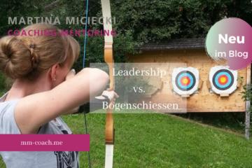 Leadership und Bogenschiessen