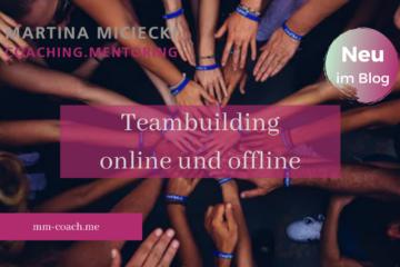 Teambuilding, Teambildende Massnahmen, Teambuilding-Massnahmen