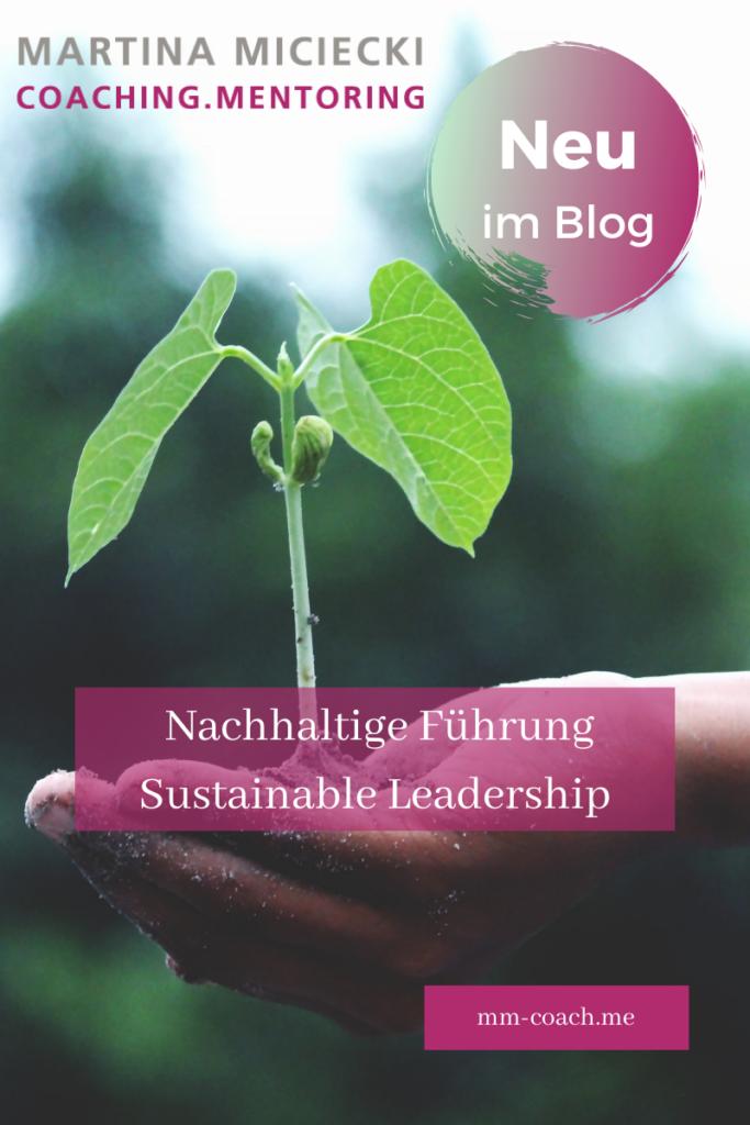 Nachhaltige Führung - Sustainable Leadership