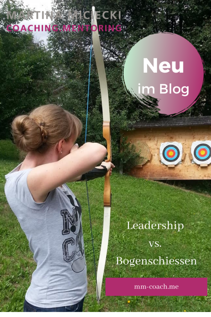 Leadership vs. Bogenschiessen