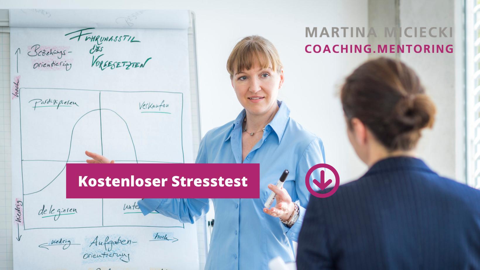 Stresstest für Führungskräfte