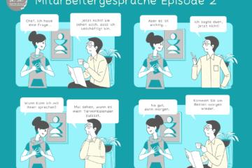 Comic Mitarbeitergespräche 2: Zeiträuber und wie Sie diese vermeiden können