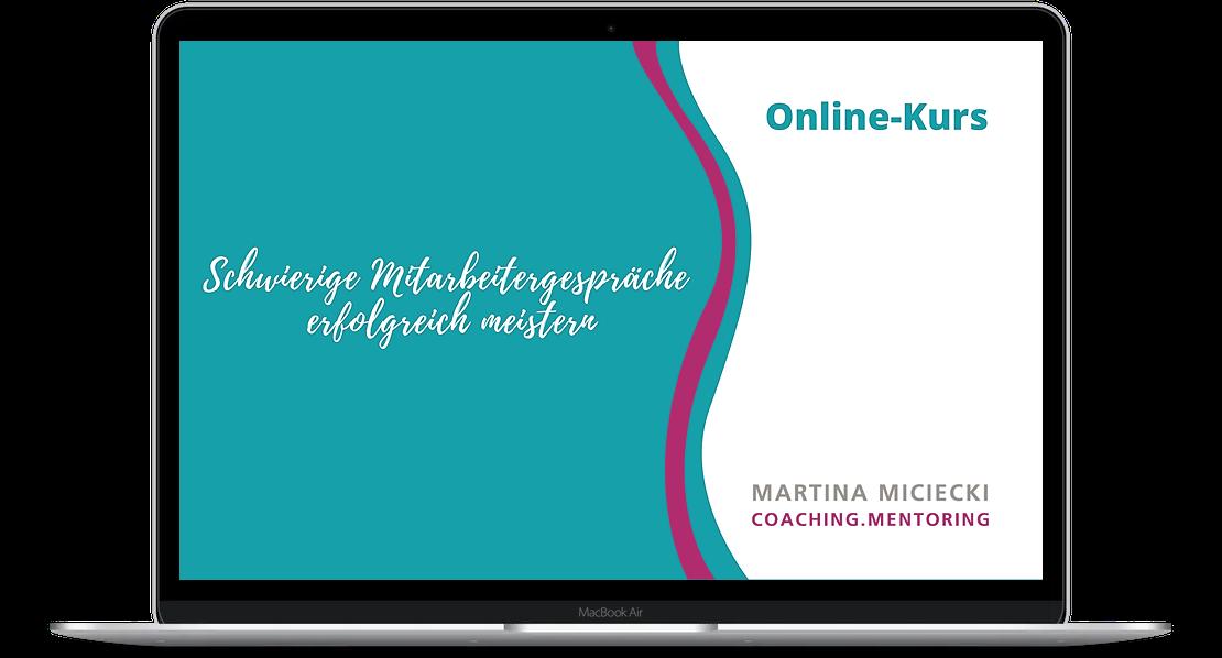 Online-Kurs Mitarbeitergespräche